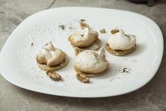 Μπισκότα μαρέγκας Στοκ εικόνα με δικαίωμα ελεύθερης χρήσης