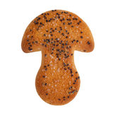 Μπισκότα με μορφή ενός μανιταριού Στοκ φωτογραφία με δικαίωμα ελεύθερης χρήσης