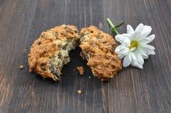 Μπισκότα με τα δημητριακά για μια υγιεινή διατροφή Στοκ εικόνες με δικαίωμα ελεύθερης χρήσης