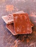 Μπισκότα με τη σοκολάτα Στοκ Εικόνες