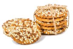 Μπισκότα με τους σπόρους Στοκ Φωτογραφίες