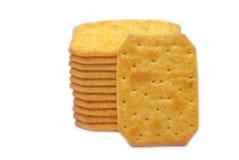 Μπισκότα με το τυρί Στοκ Εικόνες