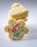 Μπισκότα με το suga Στοκ Εικόνες