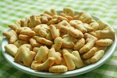 Μπισκότα μπισκότων αλφάβητου Στοκ φωτογραφία με δικαίωμα ελεύθερης χρήσης