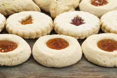 Μπισκότα μπισκότων ζελατίνας Στοκ Φωτογραφία