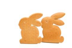 Μπισκότα Πάσχας που απομονώνονται Στοκ Εικόνα