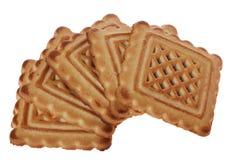 μπισκότα πέντε σύνθεσης νόσ&ta Στοκ φωτογραφία με δικαίωμα ελεύθερης χρήσης