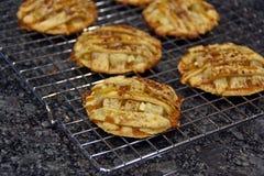 Μπισκότα πιτών της Apple Στοκ Εικόνες