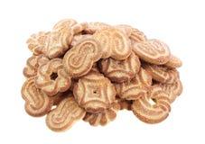 μπισκότα που απομονώνοντ&alph Στοκ φωτογραφία με δικαίωμα ελεύθερης χρήσης
