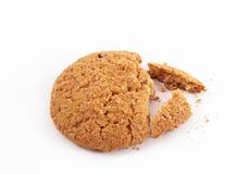 μπισκότα που σπάζουν Στοκ φωτογραφία με δικαίωμα ελεύθερης χρήσης
