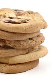 μπισκότα που συσσωρεύον Στοκ εικόνα με δικαίωμα ελεύθερης χρήσης