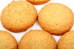 μπισκότα που τίθενται Στοκ Εικόνες
