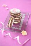 Μπισκότα σάντουιτς βακκινίων στοκ φωτογραφία με δικαίωμα ελεύθερης χρήσης