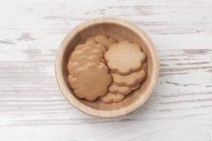 Μπισκότα σε ένα κύπελλο Στοκ εικόνες με δικαίωμα ελεύθερης χρήσης