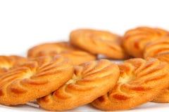 Μπισκότα σε ένα πιάτο Στοκ φωτογραφία με δικαίωμα ελεύθερης χρήσης