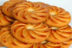 Μπισκότα σε ένα πιάτο Στοκ εικόνες με δικαίωμα ελεύθερης χρήσης