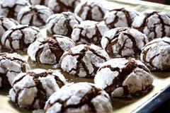 Μπισκότα σοκολάτας κροταλισμάτων στοκ εικόνες με δικαίωμα ελεύθερης χρήσης