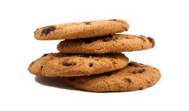 μπισκότα σοκολάτας τσιπ στοκ εικόνα