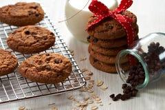 μπισκότα σοκολάτας τσιπ Στοκ φωτογραφίες με δικαίωμα ελεύθερης χρήσης