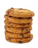 μπισκότα σοκολάτας τσιπ &pi Στοκ Εικόνες
