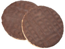 μπισκότα σοκολάτας Στοκ Εικόνα