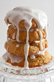 μπισκότα τέσσερα που παγών Στοκ Φωτογραφία