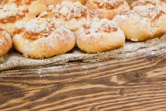 Μπισκότα της Apple Στοκ Εικόνες