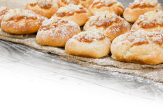 Μπισκότα της Apple Στοκ Φωτογραφίες