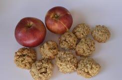 Μπισκότα της Apple Στοκ εικόνες με δικαίωμα ελεύθερης χρήσης