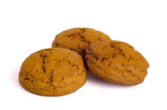 μπισκότα τρία Στοκ Εικόνες
