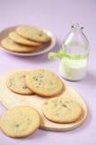 Μπισκότα τσιπ σοκολάτας στοκ εικόνες με δικαίωμα ελεύθερης χρήσης