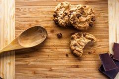Μπισκότα τσιπ σοκολάτας στοκ φωτογραφία με δικαίωμα ελεύθερης χρήσης