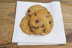 Μπισκότα τσιπ σοκολάτας Στοκ Εικόνα