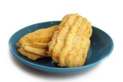 Μπισκότα τυριών Στοκ Εικόνες