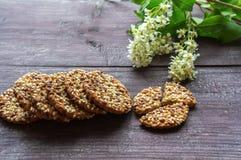 μπισκότα φρέσκα Στοκ Φωτογραφίες