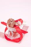 μπισκότα Χριστουγέννων εύ&ga Στοκ Εικόνες