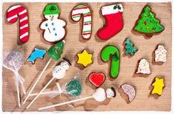 Μπισκότα Χριστουγέννων παιδιών στοκ φωτογραφίες με δικαίωμα ελεύθερης χρήσης