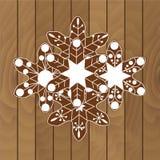 Μπισκότα Χριστουγέννων σε ένα ξύλινο υπόβαθρο Στοκ φωτογραφία με δικαίωμα ελεύθερης χρήσης