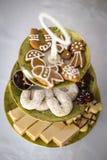 μπισκότα Χριστουγέννων φρέ&si Στοκ Εικόνες