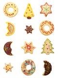 μπισκότα Χριστουγέννων Στοκ Εικόνα