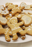 μπισκότα Χριστουγέννων στοκ φωτογραφία
