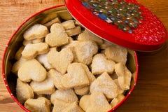 μπισκότα Χριστουγέννων Στοκ φωτογραφίες με δικαίωμα ελεύθερης χρήσης