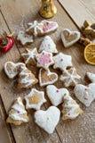 Μπισκότα Χριστουγέννων Στοκ Φωτογραφίες