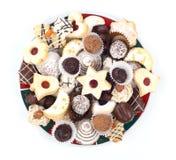 μπισκότα Χριστουγέννων Στοκ Εικόνες