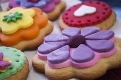 Μπισκότα χρώματος Στοκ φωτογραφία με δικαίωμα ελεύθερης χρήσης