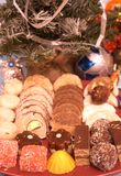 Μπισκότα 4 Χριστουγέννων στοκ φωτογραφίες με δικαίωμα ελεύθερης χρήσης