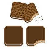 Μπισκότα απεικόνιση αποθεμάτων