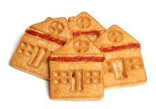 4 μπισκότα στοκ φωτογραφία