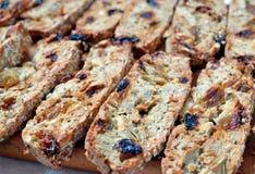 μπισκότα biscotti Στοκ Εικόνες