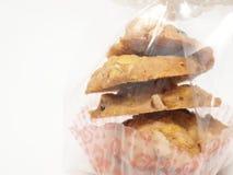 Μπισκότα Conflex και σταφίδων Στοκ εικόνα με δικαίωμα ελεύθερης χρήσης